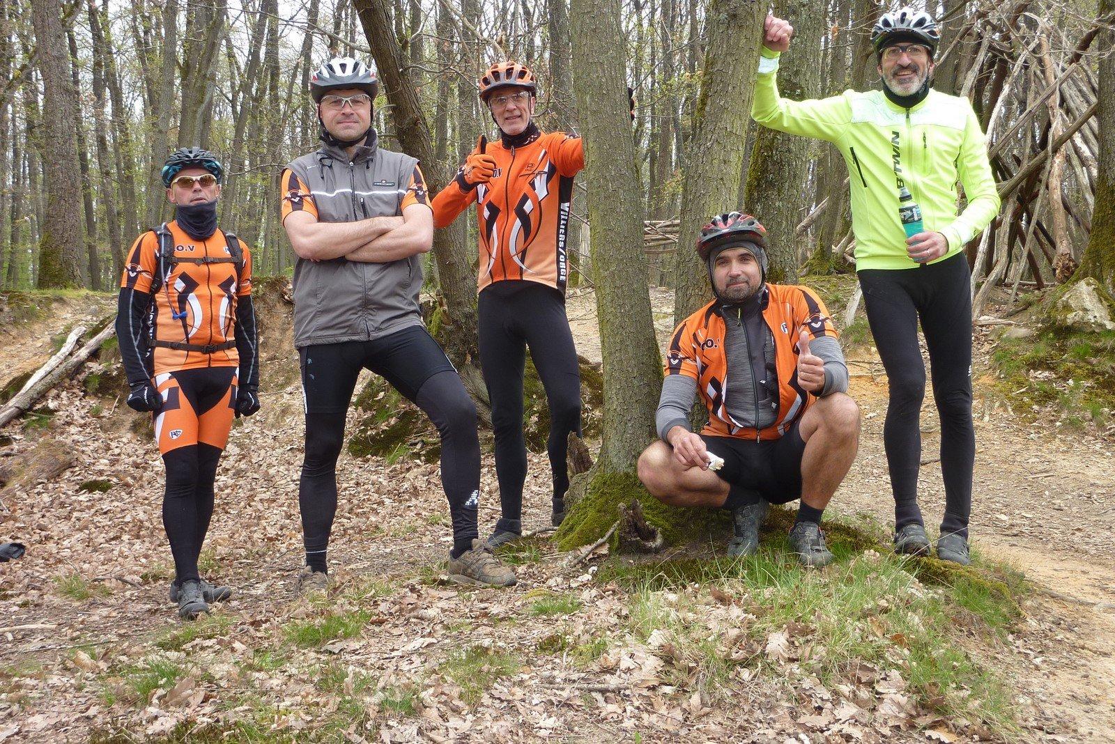 François, Matthieu, Pat, Greg et Phil
