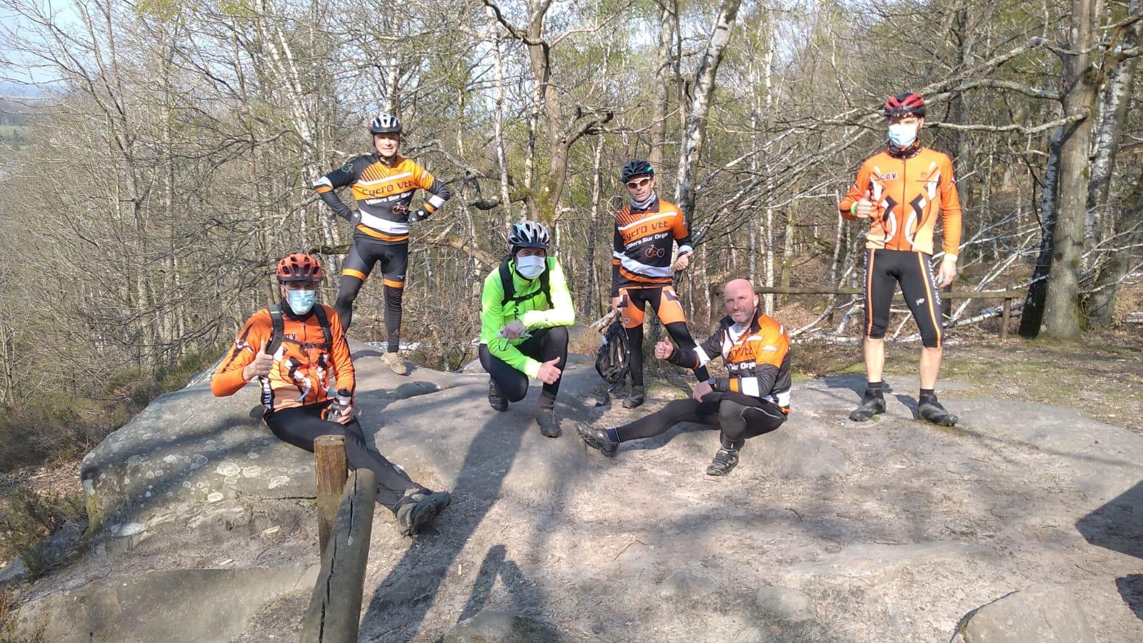 Pat, Matthieu, Phil, François, Seb et Guy